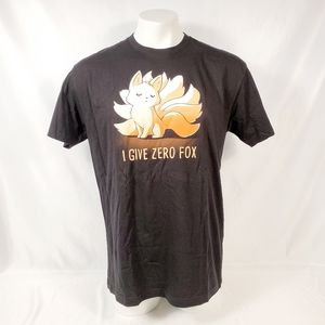 "Tee Turtle Men's ""I Give Zero Fox"" Tee"